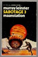 Tijgerpockets: Sabotage 3 - Maanstation (Murray Leinster) (Luitingh 1972) - SF & Fantasy