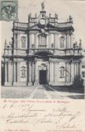 MORBEGNO-SONDRIO-FACCIATA DELLA CHIESA PARROCCHIALE DI MORBEGNO-CARTOLINA VIAGGIATA IL 8-6-1902 - Sondrio