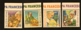 2019 - VATICANO - S29E2 - SET OF 4 STAMPS ** - Unused Stamps