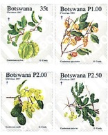 Ref. 97826 * MNH * - BOTSWANA. 1997. NAVIDAD. PLANTAS - Botswana (1966-...)