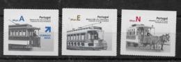 Serie De Portugal Nº Yvert 3139/41 ** TRENES (TRAINS) - 1910-... République