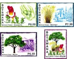 Ref. 348280 * MNH * - BOTSWANA. 2014. ARBOLES Y FLORA - Botswana (1966-...)