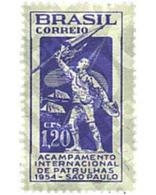 Ref. 38036 * MNH * - BRAZIL. 1954. INTERNATIONAL JAMBOREE IN SAO PAULO . JAMBOREE INTERNACIONAL EN SAO PAULO - Brasilien