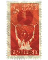 Ref. 51866 * MNH * - BRAZIL. 1954. 2nd WORLD BASKETBALL CHAMPIONSHIP . 2 CAMPEONATO DEL MUNDO DE BALONCESTO - Brasilien