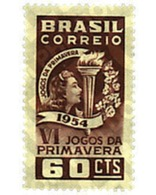 Ref. 98723 * MNH * - BRAZIL. 1954. 6th SPRING SPORT GAMES . 6 JUEGOS DEPORTIVOS DE PRIMAVERA. - Brasilien