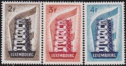 Luxembourg   .    Yvert  514/516      .   **   .   Postfrisch .   /   .   MNH - Luxemburg