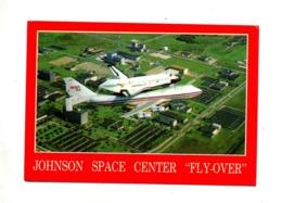 Carte Centre Spatial Johnson  Flamme Sur Wagon - Autres