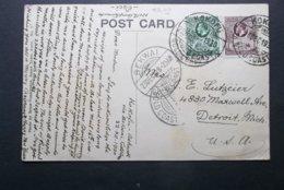 Gold Coast: 1930 PPC To USA (#YT6) - Gold Coast (...-1957)