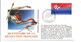 REVOLUTION FRANCAISE - LES VILLES PREFECTURES FETENT LE BICENTENAIRE - PRIVAS ARDECHE - French Revolution