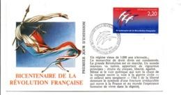REVOLUTION FRANCAISE - LES VILLES PREFECTURES FETENT LE BICENTENAIRE - CHARLEVILLE MEZIERES ARDENNES - French Revolution