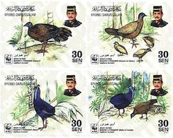 Ref. 74940 * MNH * - BRUNEI. 2001. BULWER'S PHEASANT . FAISAN DE BULWER - Brunei (1984-...)