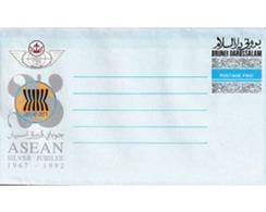 Ref. 602430 * MNH * - BRUNEI. 1992. ASEAN - SILVER JUBILEE - Brunei (1984-...)