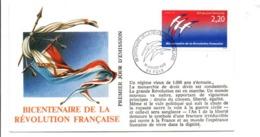 REVOLUTION FRANCAISE - LES VILLES PREFECTURES FETENT LE BICENTENAIRE - FOIX ARIEGE - French Revolution