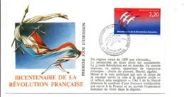 REVOLUTION FRANCAISE - LES VILLES PREFECTURES FETENT LE BICENTENAIRE - CARCASSONNE AUDE - French Revolution