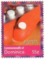 DOMINICA 1v MNH** Birth-Control Pill Pilule Contraceptive Contraception Antibabypille Pastilla Del Día Después Health - Health