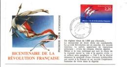 REVOLUTION FRANCAISE - LES VILLES PREFECTURES FETENT LE BICENTENAIRE - CAEN CALVADOS - French Revolution