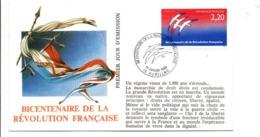 REVOLUTION FRANCAISE - LES VILLES PREFECTURES FETENT LE BICENTENAIRE - AURILLAC CANTAL - French Revolution