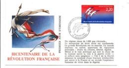 REVOLUTION FRANCAISE - LES VILLES PREFECTURES FETENT LE BICENTENAIRE - ANGOULEME CHARENTE - French Revolution