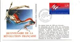 REVOLUTION FRANCAISE - LES VILLES PREFECTURES FETENT LE BICENTENAIRE - LA ROCHELLE CHARENTE MARITIME - French Revolution