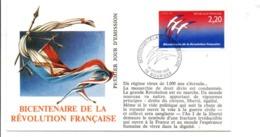 REVOLUTION FRANCAISE - LES VILLES PREFECTURES FETENT LE BICENTENAIRE - BOURGES CHER - French Revolution