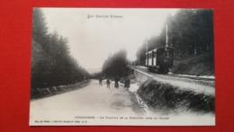 88 - GERARDMER - LE TRAMWAY DE LA SCHLUCHT PRES DE COLLEY - Gerardmer