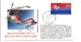 REVOLUTION FRANCAISE - LES VILLES PREFECTURES FETENT LE BICENTENAIRE - DIJON COTE D'OR - French Revolution