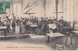 HYERES 1908 22eme REGIMENT D'INFANTERIE COLONIALE - Hyeres