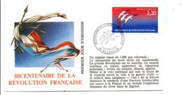 REVOLUTION FRANCAISE - LES VILLES PREFECTURES FETENT LE BICENTENAIRE - BESANCON DOUBS - French Revolution