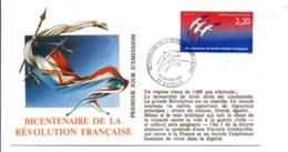 REVOLUTION FRANCAISE - LES VILLES PREFECTURES FETENT LE BICENTENAIRE - EVREUX EURE - French Revolution