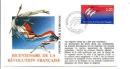 REVOLUTION FRANCAISE - LES VILLES FETENT LE BICENTENAIRE - MAINTENON EURE ET LOIR - French Revolution