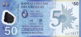 URUGUAY 50 PESOS URUGUAYOS 2017 P-100a UNC  [UY556a] - Uruguay
