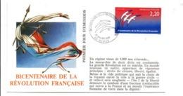 REVOLUTION FRANCAISE - LES VILLES PREFECTURES FETENT LE BICENTENAIRE - NÎMES GARD - French Revolution