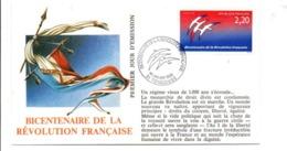 REVOLUTION FRANCAISE - LES VILLES PREFECTURES FETENT LE BICENTENAIRE - TOULOUSE HAUTE GARONNE - French Revolution