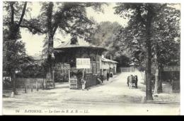 64-BAYONNE-La Gare Du B.A.B....  Animé  Café Du GLACIS... - Bayonne