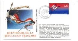 REVOLUTION FRANCAISE - LES VILLES PREFECTURES FETENT LE BICENTENAIRE - AUCH GERS - French Revolution
