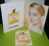 CHANEL * GABRIELLE * ESSENCE * DOUBLE - CARD  * 14,5 X 19,3 Cm  + EXTRA CARD - Cartes Parfumées