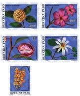 Ref. 81938 * MNH * - BURKINA FASO. 1991. FLOWERS OF BURKINA . FLORES DE BURKINA - Burkina Faso (1984-...)