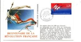 REVOLUTION FRANCAISE - LES VILLES PREFECTURES FETENT LE BICENTENAIRE - RENNES ILLE ET VILAINE - French Revolution
