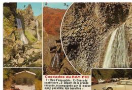 CASCADES DU RAY PIC - Vues - Voiture : DS Citroen - France