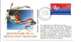 REVOLUTION FRANCAISE - LES VILLES PREFECTURES FETENT LE BICENTENAIRE - CHATEAUROUX INDRE - French Revolution