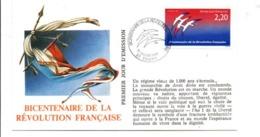 REVOLUTION FRANCAISE - LES VILLES PREFECTURES FETENT LE BICENTENAIRE - TOURS INDRE ET LOIRE - French Revolution