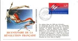 REVOLUTION FRANCAISE - LES VILLES PREFECTURES FETENT LE BICENTENAIRE - LONS LE SAUNIER JURA - French Revolution