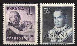 1950-1951 Edifil Nº 1070, 1102 MH - 1931-Hoy: 2ª República - ... Juan Carlos I