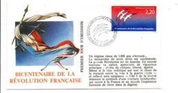 REVOLUTION FRANCAISE - LES VILLES PREFECTURES FETENT LE BICENTENAIRE - MONT DE MARSAN LANDES - French Revolution