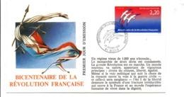 REVOLUTION FRANCAISE - LES VILLES PREFECTURES FETENT LE BICENTENAIRE - BLOIS LOIR ET CHER - French Revolution