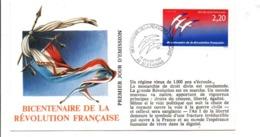 REVOLUTION FRANCAISE - LES VILLES PREFECTURES FETENT LE BICENTENAIRE - SAINT ETIENNE LOIRE - French Revolution