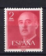 1955  Edifil Nº 1157  MH - 1931-Aujourd'hui: II. République - ....Juan Carlos I