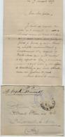 TB 2658 - Lettre En Franchise Militaire - Dépot D'Eclopés De BAINVILLE - SUR - MADON Pour St LAURENT - LES - MACON - Guerra De 1914-18