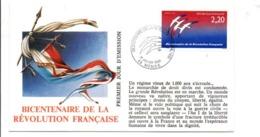 REVOLUTION FRANCAISE - LES VILLES PREFECTURES FETENT LE BICENTENAIRE - MENDE LOZERE - French Revolution