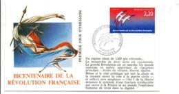 REVOLUTION FRANCAISE - LES VILLES PREFECTURES FETENT LE BICENTENAIRE - ANGERS MAINE ET LOIRE - French Revolution